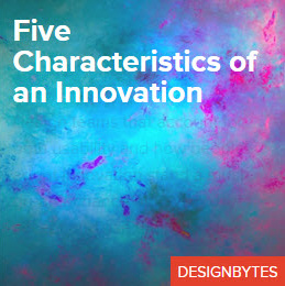 Five Characteristics of an Innovations