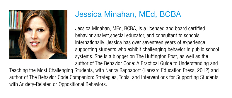 Jessica Minahan Med Bcba Speaks On >> Innovators In Education 4th Annual Conference