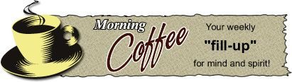 Monday morning coffee logo