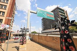 Nelson Mandela Bridge, Johannesburg