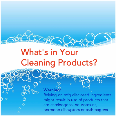 Cleaning Product Chemicals