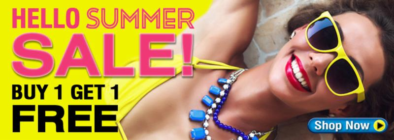 Say Hello to Summer with BOGO !