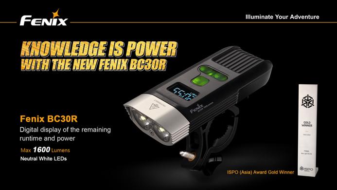 Fenix BC30R LED Bike Light