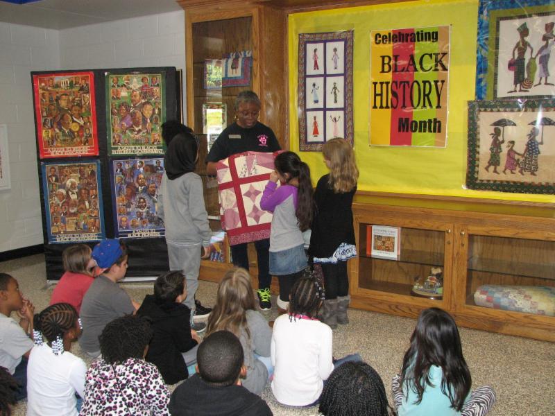 Jackson ES students visit quilt museum