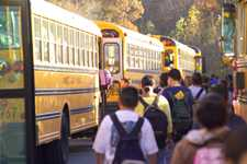 Duluth students board buses
