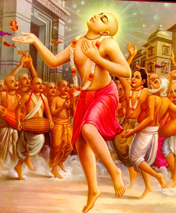 Mahaprabhu in Ecstatic Mood