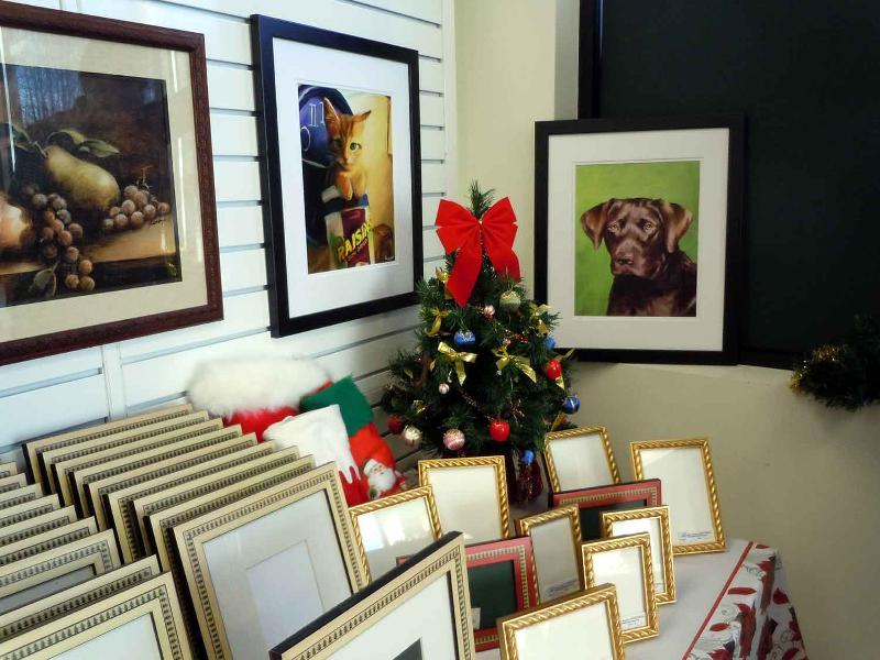 Holiday Frame Display