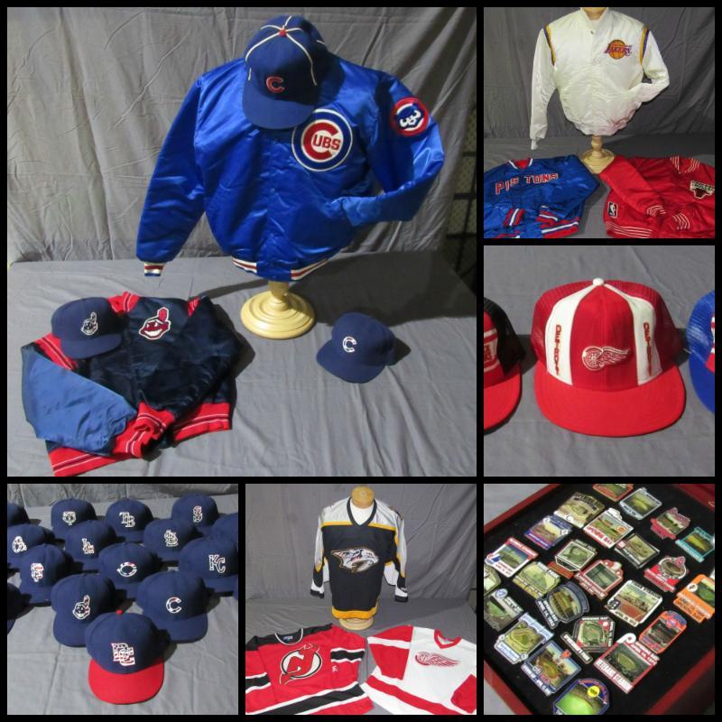 sport team jackets chicago cubs cleveland indians hats jerseys
