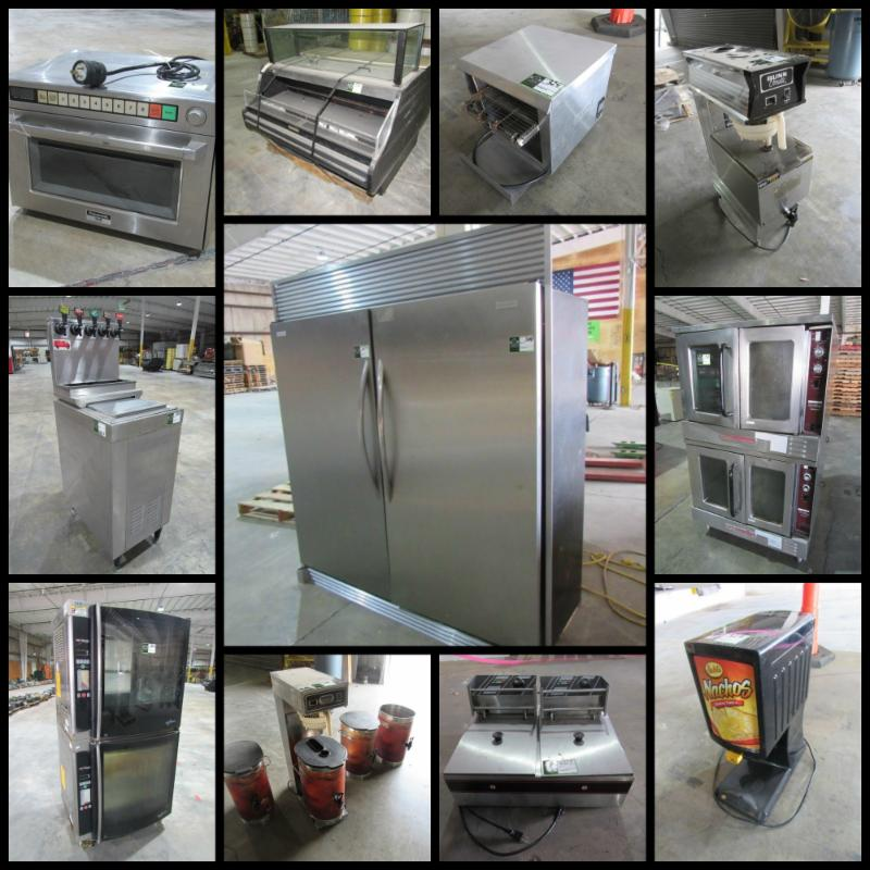 Restaurant Supply Equipment at Auction