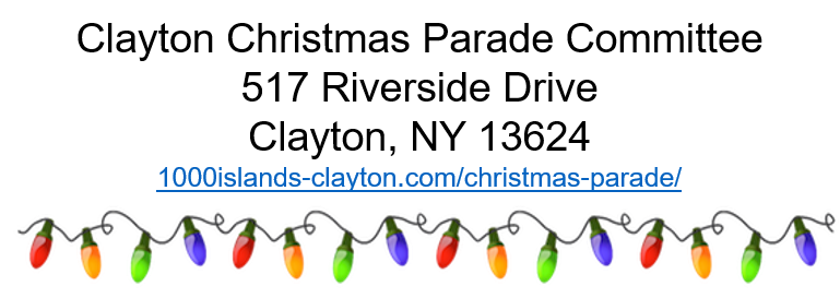 the 54th annual clayton christmas parade and fireworks will be held on saturday december 3rd 2016 starting at 6pm the theme to this years christmas in - Clayton Christmas Parade