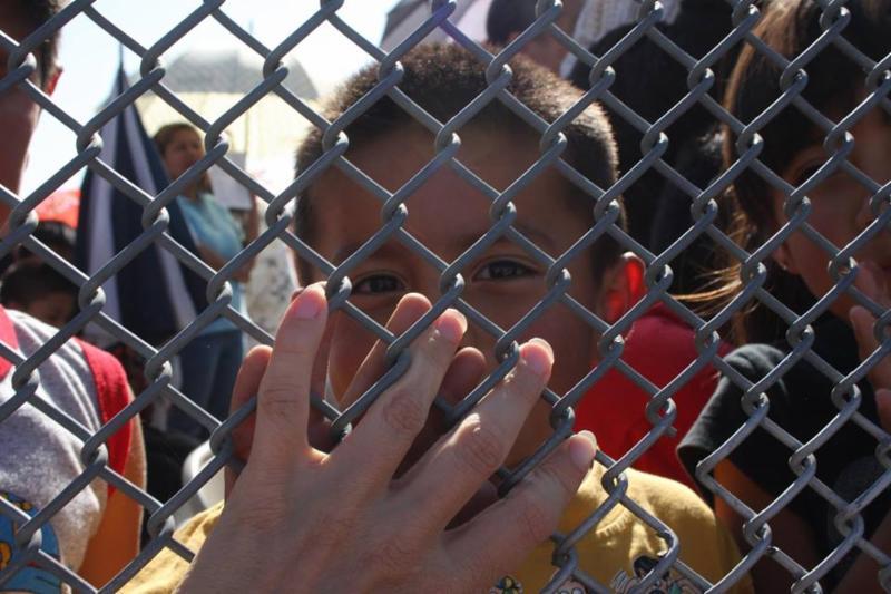 Border Fence Encounter