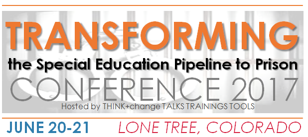 Pipeline To Prison Special Education >> Think Change Transforming The School To Prison Pipeline