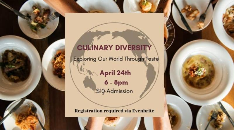 Culinary Diversity:Exploring our World Through Taste @ Commerce Club