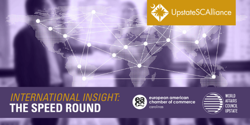 INTERNATIONAL INSIGHT: THE SPEED ROUND @ Avenue