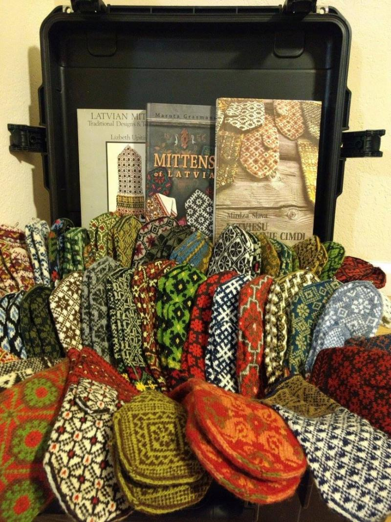Latvian Mittens,the Traveling Exhibit @ Greenville Center for the Creative Arts | Greenville | South Carolina | United States