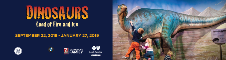 Dinosaurs: Land of Fire & Ice - A Bilingual Exhibit @ Upcountry History Museum | Greenville | South Carolina | United States