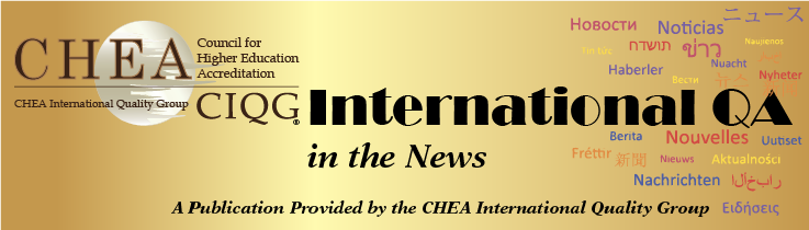 CHEA Accreditation in the News banner