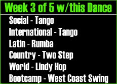UCBDC Spring 2015 Session Week 8 Dances Covered
