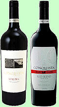 Conquista Red Wines from Argentina