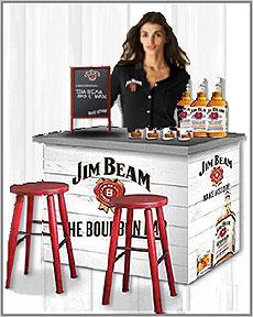 Jim Beam Bourbon Bar