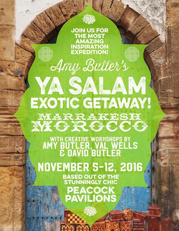 Amy Butler's Ya Salam Exotic Getaway!