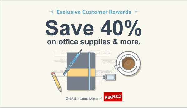 Staples Gift Card Offer 40 Discount On Office Supplies
